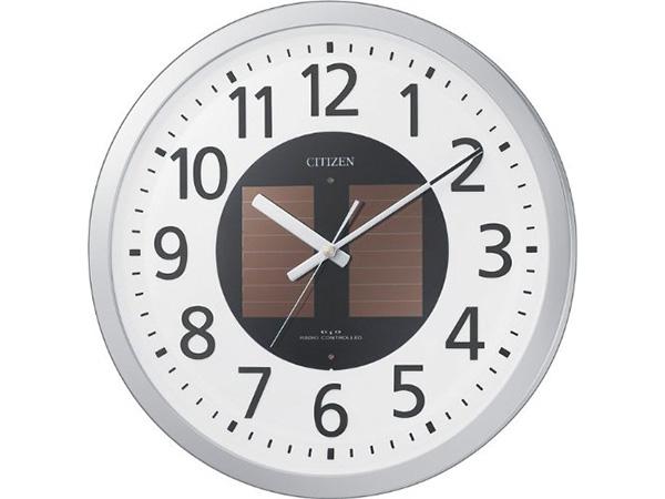 シチズン エコライフM815 ソーラー電源電波掛け時計 4MY815-019H2