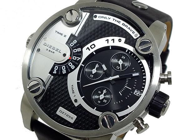 ディーゼル DIESEL クロノグラフ デュアルタイム 腕時計 時計 DZ7256
