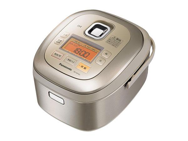 パナソニック Panasonic IHジャー 炊飯器(5.5合炊) SR-HX102-N ノーブルシャンパン【送料無料】
