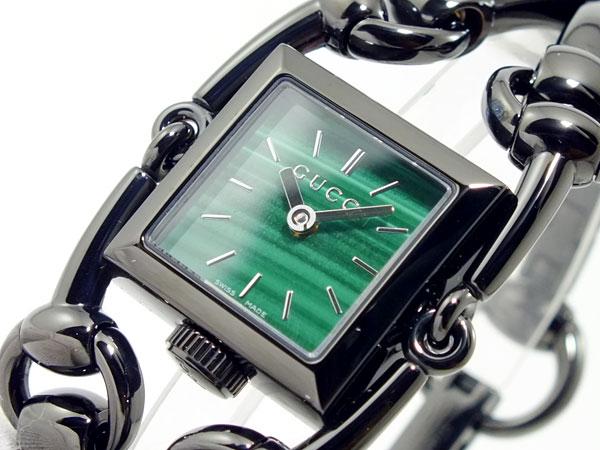 【オープニング大セール】 グッチ GUCCI シニョリーア 腕時計 レディース YA116517 グリーン【送料無料】, ネリマク 2b97bc30