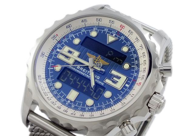 【メール便不可】 ブライトリング BREITLING クロノスペース 腕時計 クロノスペース A785C23ACA BREITLING ブルー【送料無料 腕時計】, shizuka-will-:67e0982d --- eurotour.com.py