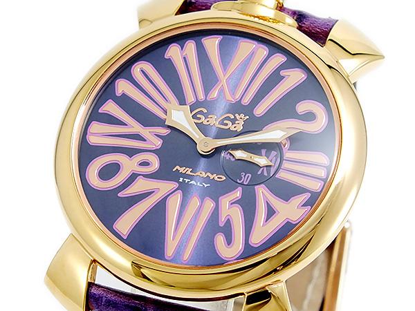 ガガミラノ GAGA MILANO SLIM クオーツ ユニセックス 腕時計 5085-3【送料無料】