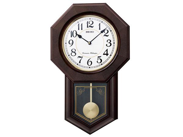 セイコー SEIKO 報時 掛け時計 RQ325BH2