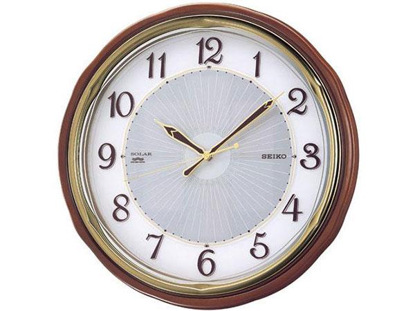 セイコー SEIKO 電波時計 ソーラープラス 掛け時計 SF221BH2