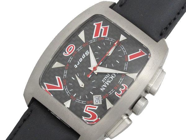 LOCMAN ロックマン 腕時計 時計 メタル チタンカーボン クロノ 048400CBNRD5RAK【ポイント10倍】