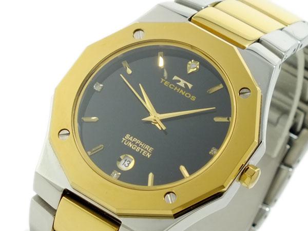 贅沢屋の テクノス TECHNOS 腕時計 時計 T9164TB, お米専門店 とよみや 4d22d92f