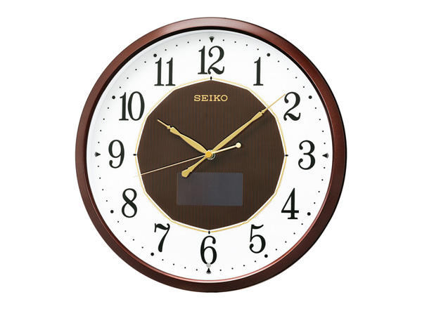 セイコー SEIKO ソーラー電波時計 掛時計 SF241B