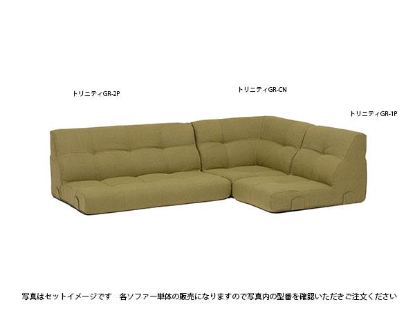 SOFA コーナーソファー トリニティGR-1P 【代引不可】