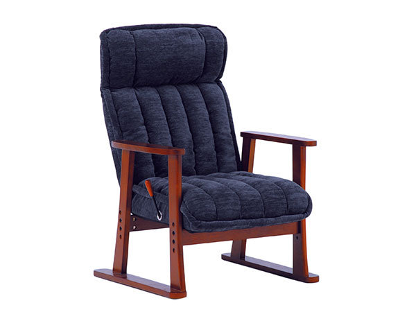 フロアチェア FLOOR CHAIR 座椅子 LZ-4432NV 【代引不可】
