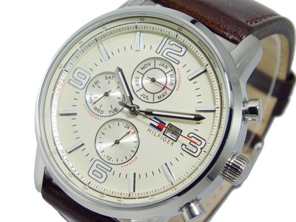 トミー ヒルフィガー TOMMY HILFIGER クオーツ メンズ 腕時計 時計 1710337