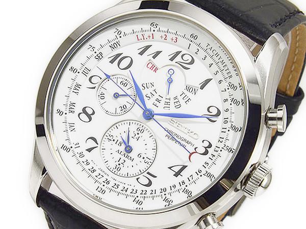 セイコー SEIKO クオーツ メンズ クロノグラフ 腕時計 時計 SPC131P1