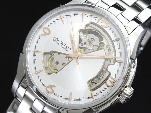ハミルトン ジャズマスター オープンハート 自動巻き メンズ 腕時計 h32565155【送料無料】