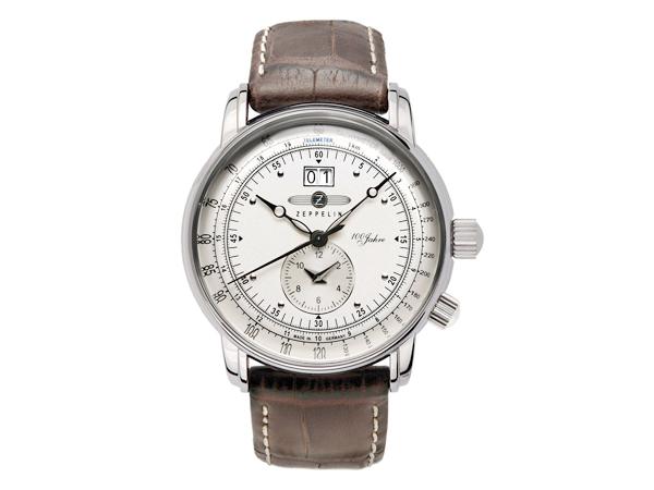 ツェッペリン ZEPPELIN 100周年 記念モデル LZ1 クォーツ メンズ 腕時計 時計 7640-1