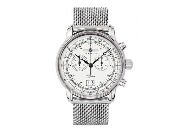 ツェッペリン ZEPPELIN 100周年 クォーツ メンズ クロノ 腕時計 7690M-1【送料無料】