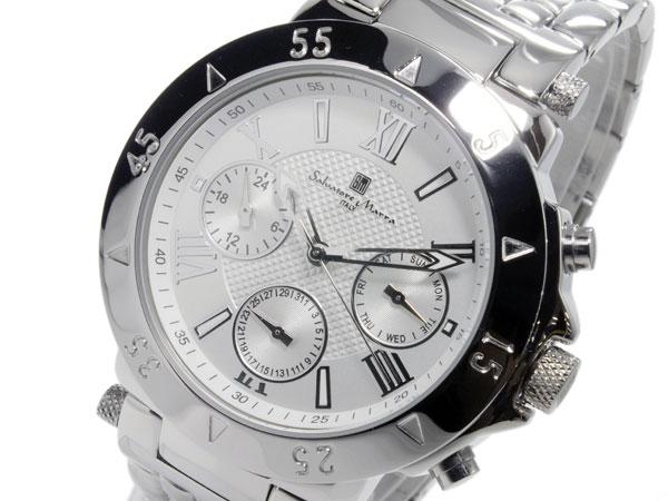 サルバトーレマーラ SALVATORE MARRA クオーツ メンズ 腕時計 時計 SM14118-SSWH