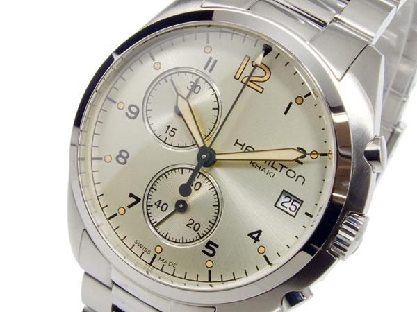 ハミルトン HAMILTON カーキ パイロット パイオニア クオーツ メンズ クロノ 腕時計 H76512155【送料無料】【ポイント10倍】
