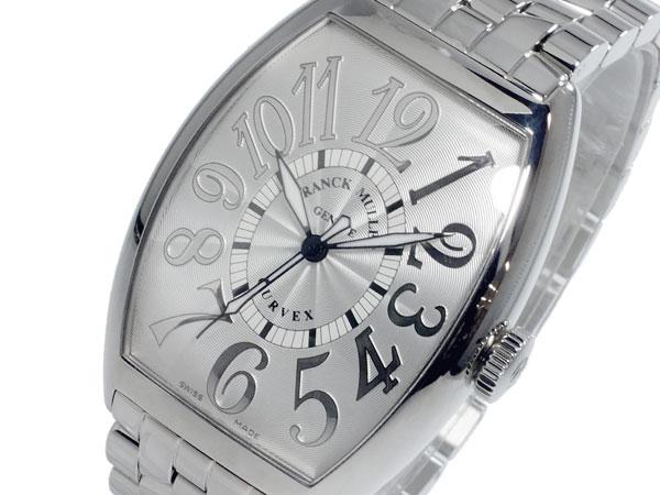 フランクミュラー FRANCK MULLER カーベックス 自動巻 メンズ 腕時計 6850-SC-REL-O-SLV-WHTH (き)【送料無料】【ポイント10倍】