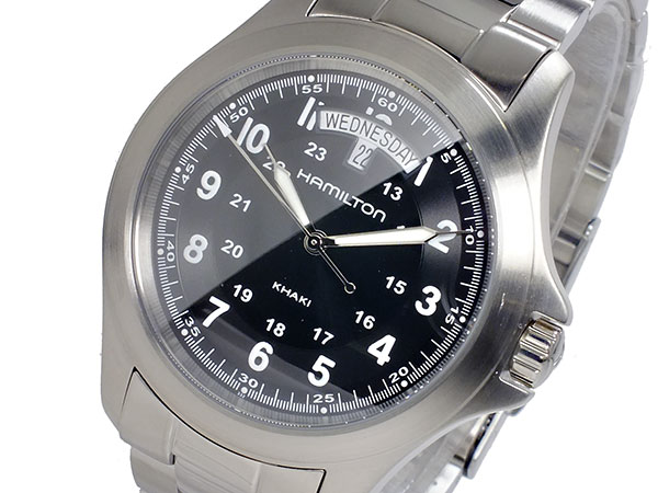 ハミルトン HAMILTON カーキキング KHAKI KING クオーツ メンズ 腕時計 H64451133【送料無料】