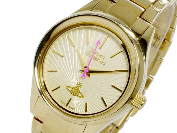 ヴィヴィアン ウエストウッド VIVIENNE WESTWOOD クオーツ レディース 腕時計 時計 VV111GD