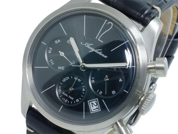 アルカ フトゥーラ ARCA FUTURA クオーツ メンズ デュアルタイム 腕時計 時計 866BKBK