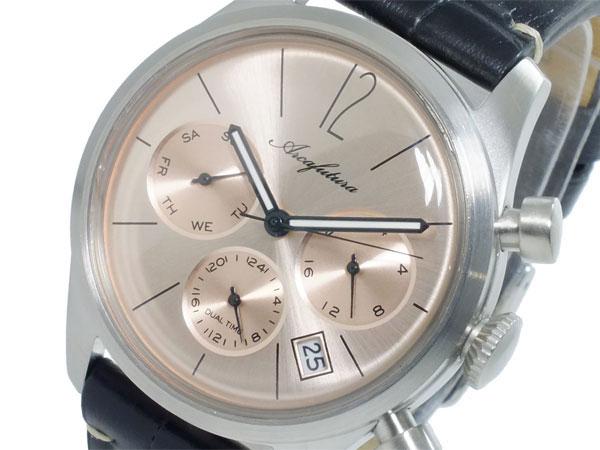 アルカ フトゥーラ ARCA FUTURA クオーツ メンズ デュアルタイム 腕時計 時計 866PKBK