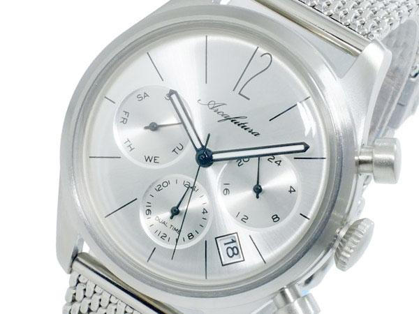 アルカ フトゥーラ ARCA FUTURA クオーツ メンズ デュアルタイム 腕時計 時計 866SL-M