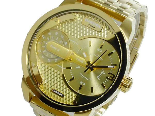 ディーゼル DIESEL クオーツ メンズ デュアルタイム 腕時計 時計 DZ7306