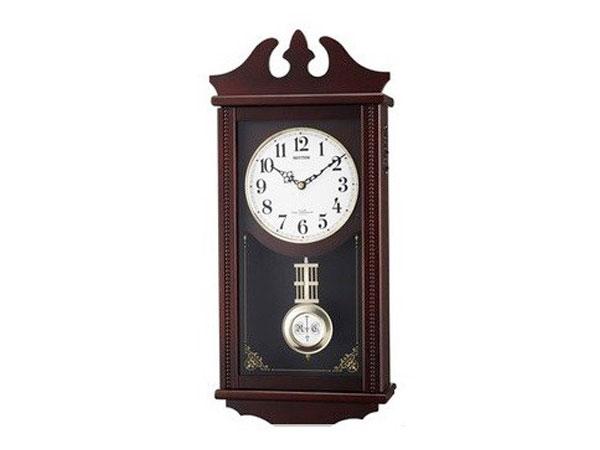 シチズン CITIZEN リズム時計製 電波掛け時計 ペデルセンR 4MNA03RH06