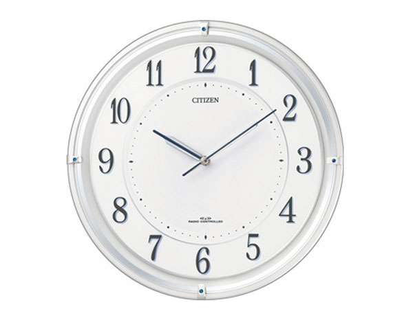 シチズン CITIZEN 電波掛け時計 サイレントソーラーM817 4MY817-003