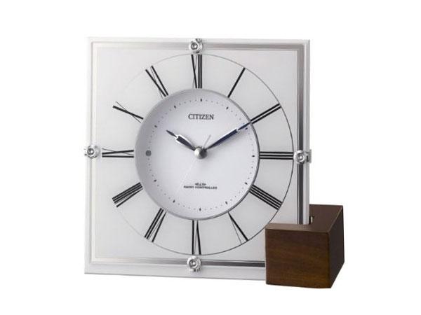 シチズン CITIZEN 電波置き時計 マリアージュ707 4RY707-003