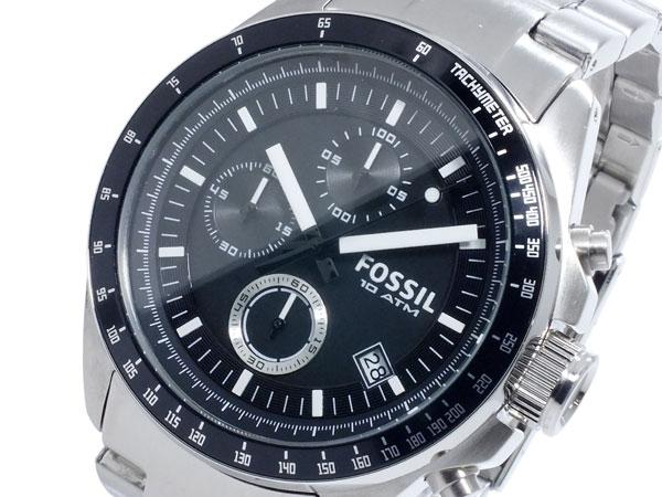 フォッシル FOSSIL デッカー DECKER クオーツ メンズ クロノ 腕時計 時計 CH2600