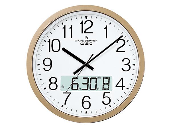 カシオ CASIO インテリアクロック 電波 壁掛け時計 IC-4100J-9JF 国内正規