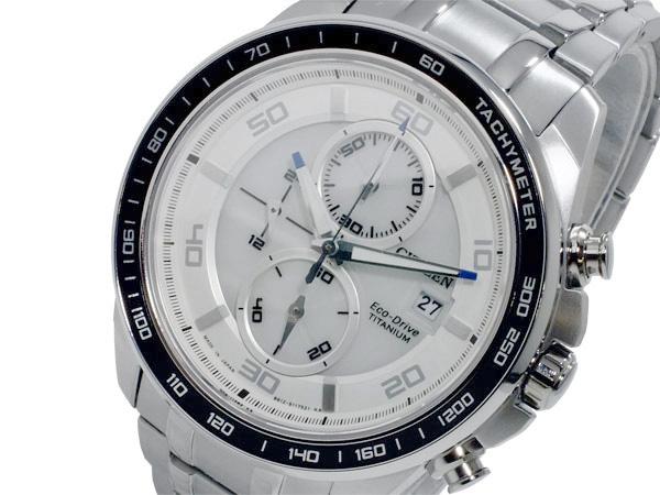 シチズン CITIZEN エコドライブ クロノ メンズ 腕時計 CA0341-52A【送料無料】