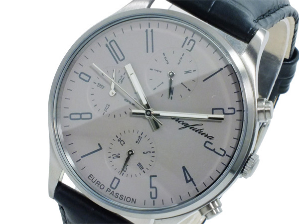 アルカ フトゥーラ ARCA FUTURA クオーツ メンズ 腕時計 時計 EC483GR グレー