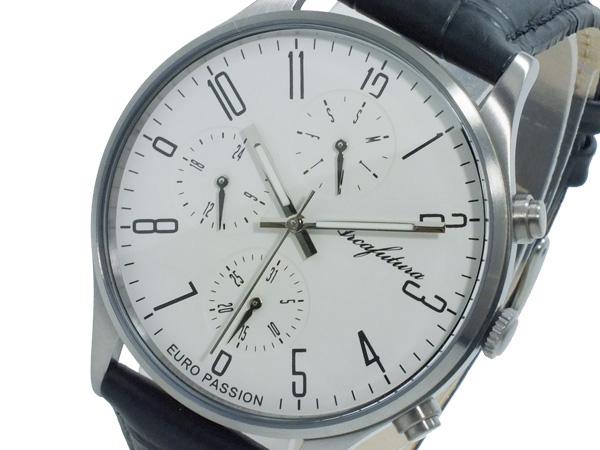 アルカ フトゥーラ ARCA FUTURA クオーツ メンズ 腕時計 時計 EC483WH ホワイト