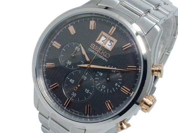 セイコー SEIKO クロノ クオーツ メンズ 腕時計 時計 SPC151P1