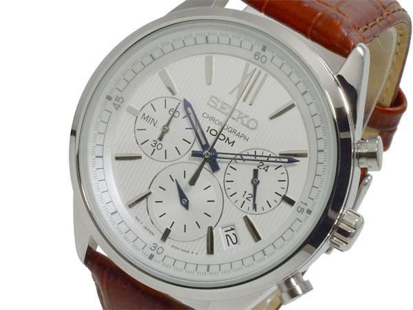セイコー SEIKO クロノ クオーツ メンズ 腕時計 時計 SSB157P1