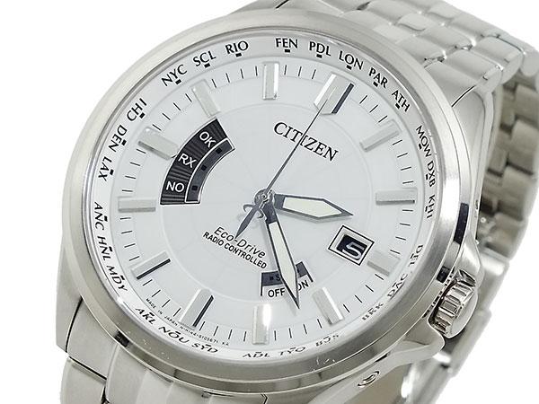 シチズン CITIZEN エコドライブ ソーラー 電波腕時計 CB0011-51A【送料無料】