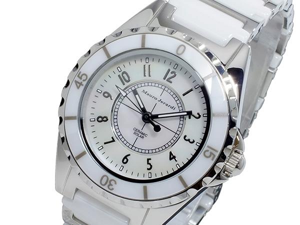 マウロ ジェラルディ MAURO JERARDI ソーラー レディース 腕時計 時計 MJ042-2