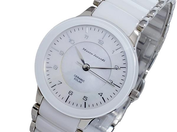 マウロ ジェラルディ MAURO JERARDI ソーラー レディース 腕時計 時計 MJ044-3