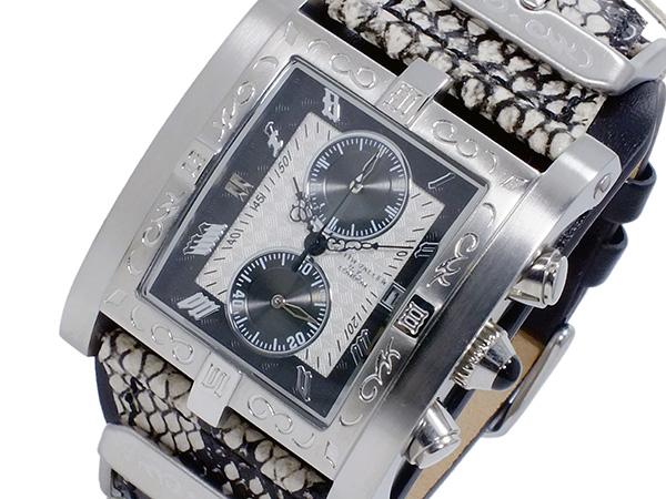 キース バリー KEITH VALLER クオーツ クロノ メンズ 腕時計 時計 PSC-WH ホワイト