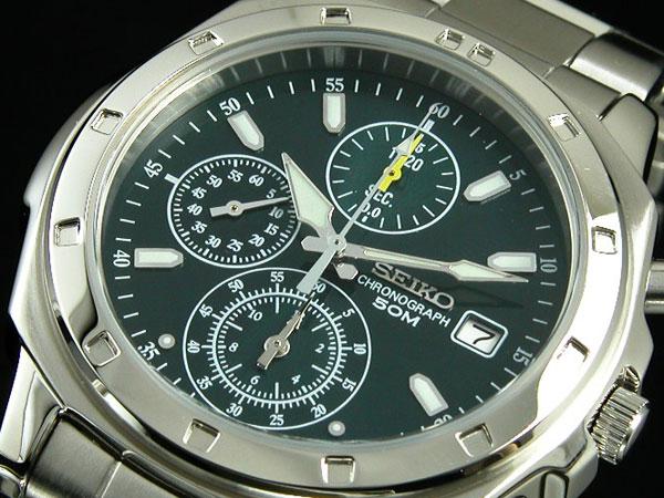 セイコー SEIKO クオーツ メンズ クロノ 腕時計 時計 SND411P1