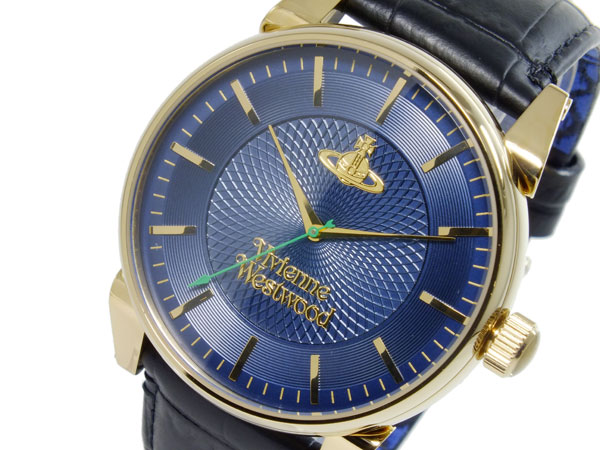 ヴィヴィアン ウエストウッド VIVIENNE WESTWOOD フィンズバリー クオーツ メンズ 腕時計 時計 VV065NVBK