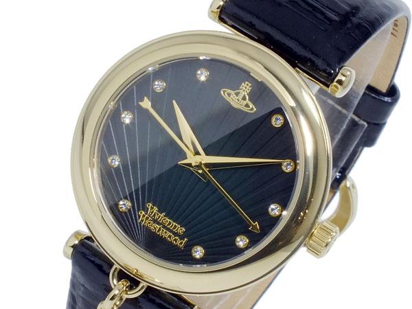 ヴィヴィアン ウエストウッド VIVIENNE WESTWOOD クオーツ 腕時計 時計 VV108BKBK