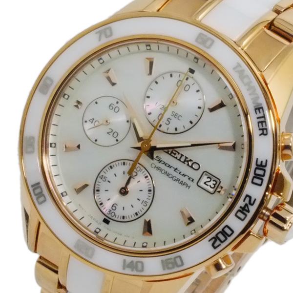 セイコー SEIKO スポーチュラ クオーツ レディース クロノ 腕時計 SNDW98P1【送料無料】