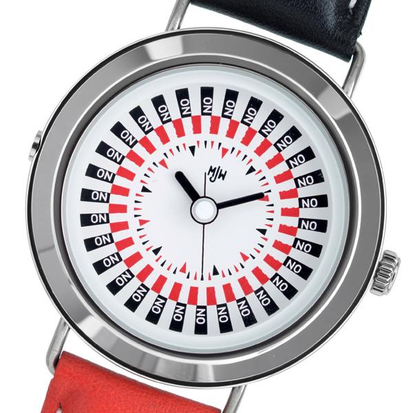 ピーオーエス POS The Decider クオーツ メンズ 腕時計 時計 MJW020001 ホワイト