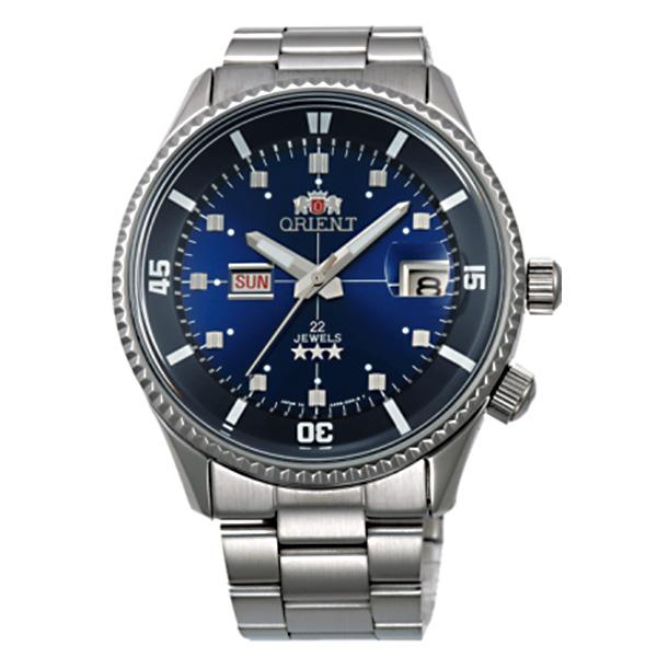 オリエント キングマスター 自動巻き メンズ 腕時計 時計 WV0031AA ネイビー 国内正規【S1】