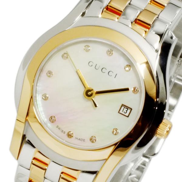グッチ GUCCI Gクラス クオーツ レディース 腕時計 YA055535【送料無料】