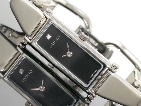 GUCCI グッチ 腕時計 バングル ダイヤ レディース YA015555【送料無料】【S1】