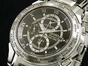 セイコー SEIKO プレミア Premier 腕時計 時計 ワールドタイマー SPL009P1【送料無料】【ポイント10倍】